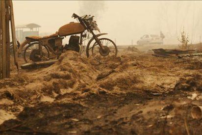 Moscú amanece envuelta por el humo de los incendios forestales