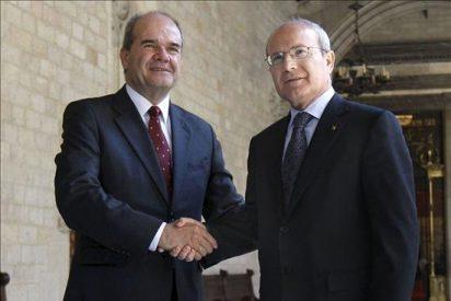 Montilla y Chaves se reúnen hoy para intentar dar impulso al Estatut