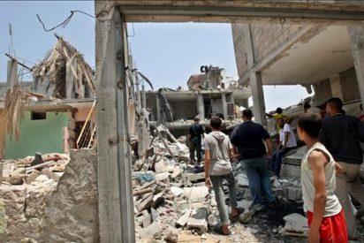 Un miliciano palestino muerto y dos heridos en un ataque israelí en Gaza