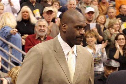 O'Neal promociona un programa de televisión y surgen rumores de ir a los Celtics