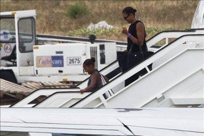 Michelle Obama llega a España para descansar junto a su hija y unos amigos