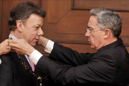 Gran despliegue de seguridad en Colombia para la investidura de Santos