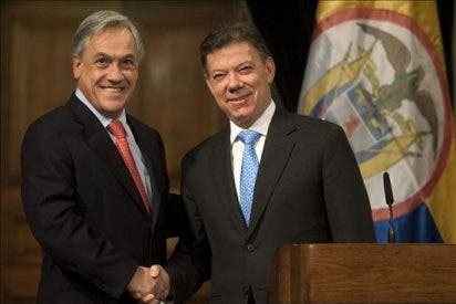 El presidente Sebastián Piñera viaja a Ecuador y a la investidura de Santos