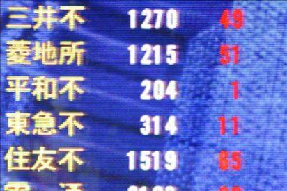 El Nikkei baja 105,90 puntos, el 1,09 ciento, hasta 9.548,02 puntos