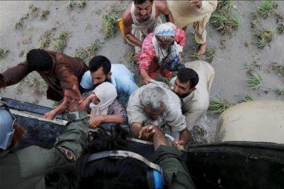 La Media Luna Roja avisa de brotes de cólera por las inundaciones en Pakistán