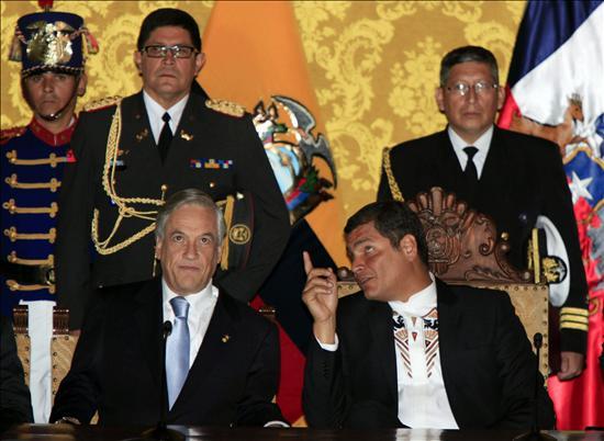 Ecuador y Chile amplían la cooperación en temas mineros y petroleros