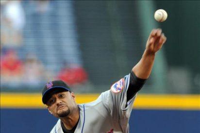 1-0. Santana recupera el brazo y le da el triunfo a los Mets
