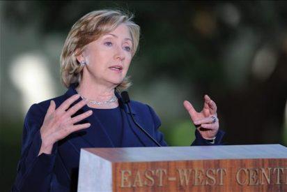 Clinton dice EE.UU. sigue