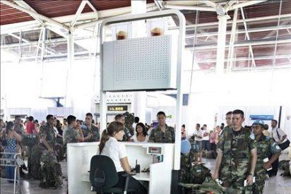 Hoy sale de Zaragoza el primer contingente militar con destino al sur de Líbano