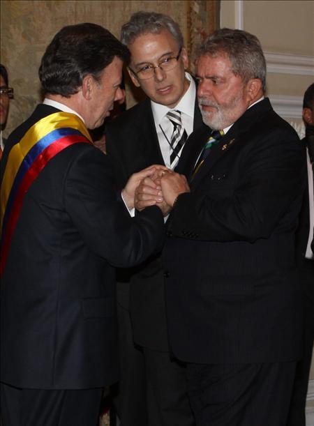 Lula recibirá a Santos el 1 de septiembre en Brasilia