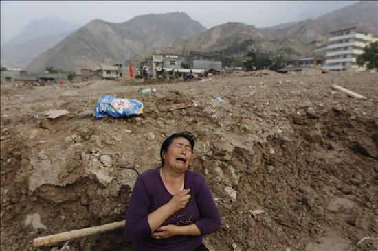 El alud de barro deja 702 muertos y 1.042 desaparecidos en la provincia china de Gansu