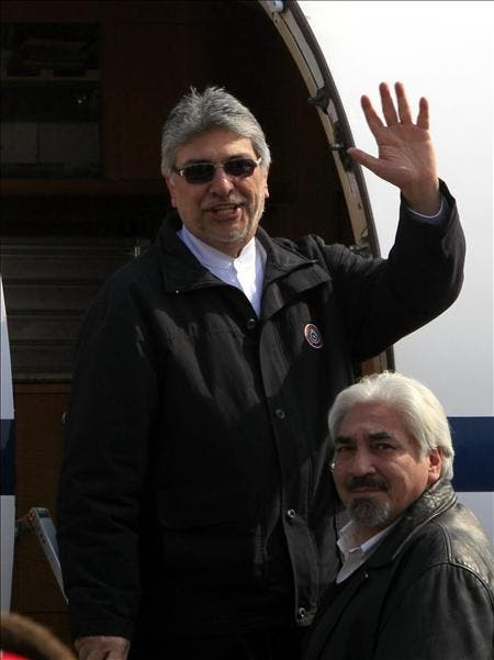 Lugo llega a un hospital brasileño para someterse a exámenes médicos