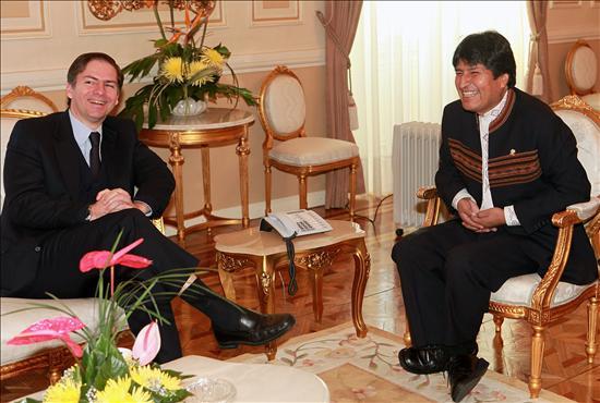 El Banco Mundial dará créditos a Bolivia por 500 millones de dólares hasta el 2012