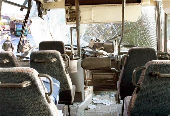 Al menos 22 muertos al despeñarse un autobús en el norte de Perú