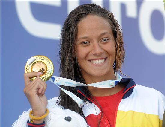 Da Rocha renace en Budapest y gana su primera gran medalla internacional