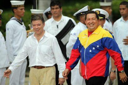 Santos y Chávez celebran reunión bajo el compromiso de recomponer relaciones