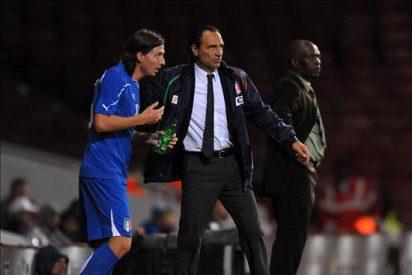 """0-1. Prandelli suspende su primera prueba al frente de la """"azzurra"""""""