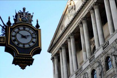 El Banco de Inglaterra rebaja al 2,5% la previsión de crecimiento para 2011