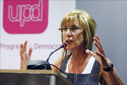 Rosa Díez se ve clave en Madrid y advierte de que no negociará alcantarillas