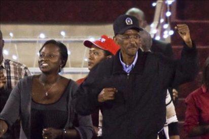 Paul Kagame, reelegido con un 93 por ciento de los votos en las cuestionadas presidenciales de Ruanda