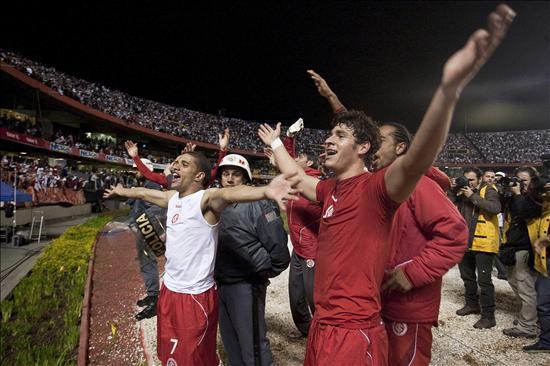 Se agotan en pocas horas las entradas para el partido de vuelta en Brasil
