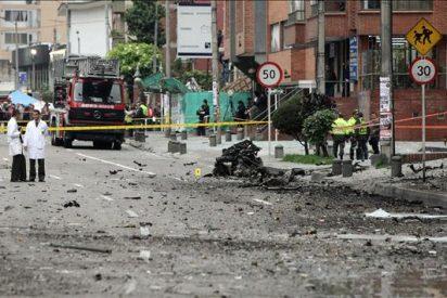 Todos los heridos del atentado con un coche bomba en Bogotá fueron dados de alta