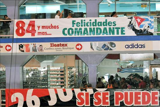 Fidel Castro cumple 84 años situado de nuevo en el centro de la escena pública cubana
