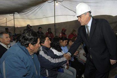El presidente chileno espera tener contacto este fin de semana con los mineros atrapados
