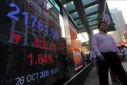 La Bolsa de Hong Kong pierde 10,54 puntos,el 0,05 por ciento hasta 21.096,17