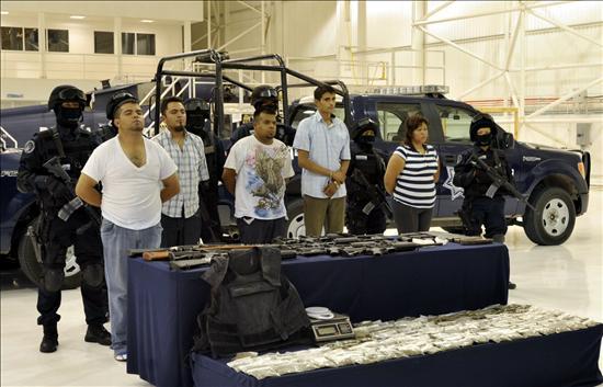 La Policía captura a 5 presuntos secuestradores de periodistas mexicanos