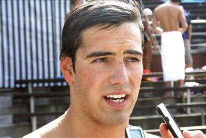 Muñoz se queda fuera de los 100 mariposa y Castro bate el récord de España en los Europeos