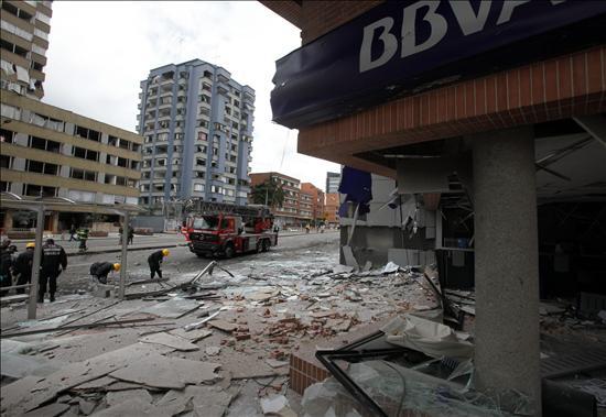 El Gobierno ofrece más de 275.000 dólares por información del atentado en Bogotá