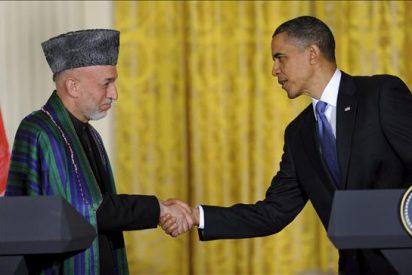Obama y Karzai acuerdan mantener las presiones contra los talibanes