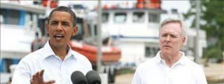 """Obama dice que el derrame paró, pero trabajarán """"hasta el final"""" para paliar los daños"""