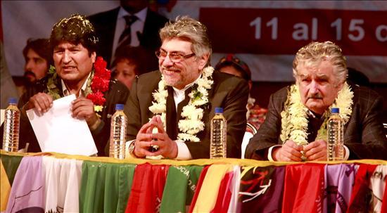 Presidentes insisten en la integración energética de Bolivia, Paraguay y Uruguay