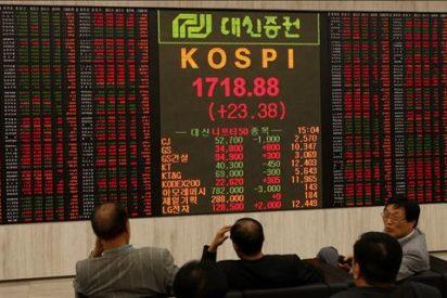 Eln índice Kospi bajó 10,88 puntos, el 0,62 por ciento, hasta 1.735,36 puntos