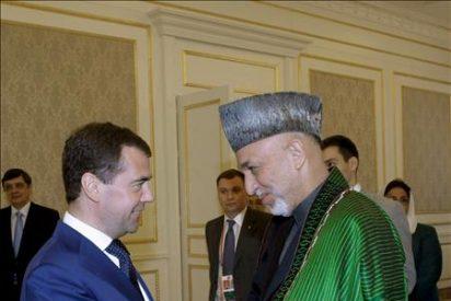 Los presidentes ruso, afgano, paquistaní y tayiko se reunirán el miércoles