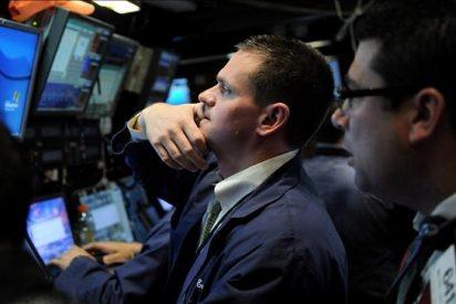 El Dow Jones baja el 0,35 por ciento lastrado por el lento crecimiento en Japón