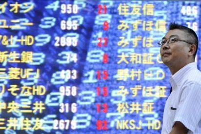 El índice Nikkei baja 85,38 puntos, el 0,93 ciento, hasta 9.111,29 puntos