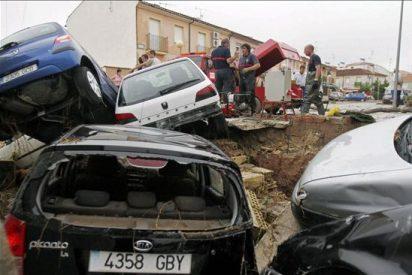 Las fuertes lluvias causan 3 muertos en Córdoba e inundaciones en Murcia