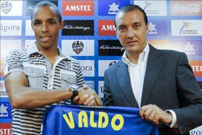 """El centrocampista leonés, Valdo, destaca """"sabía que aquí había muy buen ambiente"""""""