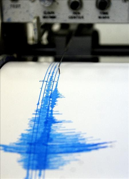 Un temblor de 5,4 grados Richter sacude las costas de El Salvador y Guatemala