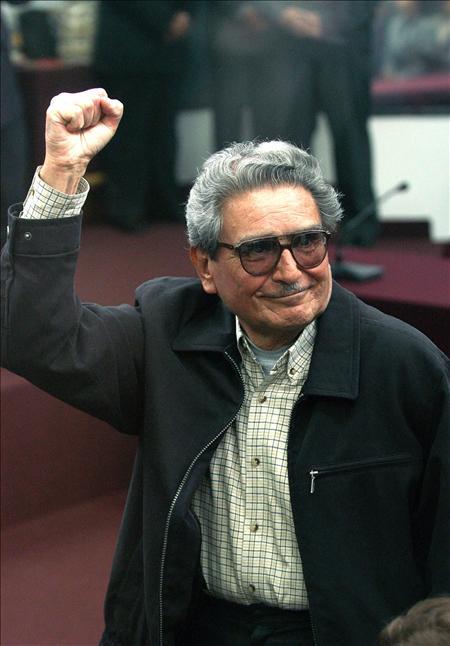 """El fundador de Sendero Luminoso se casa con la """"número dos"""" Elena Yparraguirre"""