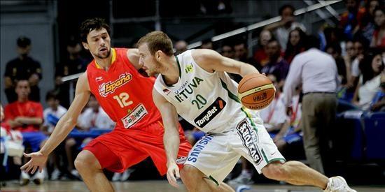 94-75. España vuelve a derrotar a una Lituania muy dependiente de Kleiza