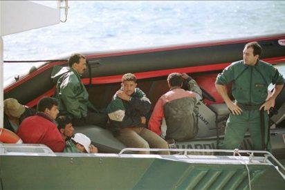 Interceptan en Melilla dos pateras con ocho subsaharianos a bordo
