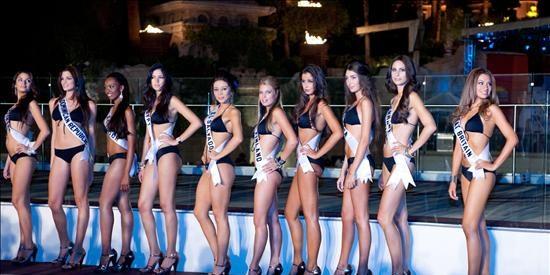 Todo listo en Las Vegas para albergar hoy el certamen de Miss Universo