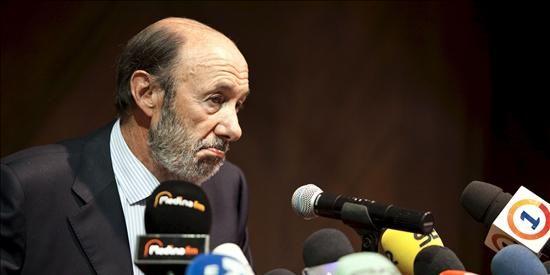 """Rubalcaba considera """"superados"""" los incidentes en torno a Melilla"""