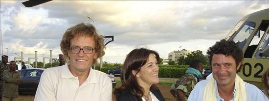 Despega de Burkina Faso el avión de Fuerza Aérea española con los dos cooperantes