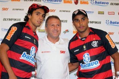 El Flamengo presenta a los delanteros Deivid y Diogo