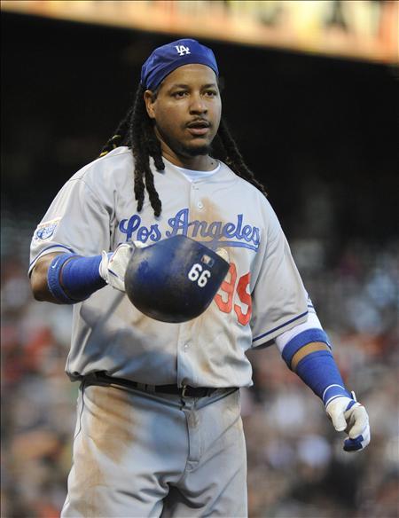 Manny Ramírez podría tener los días contados con los Dodgers